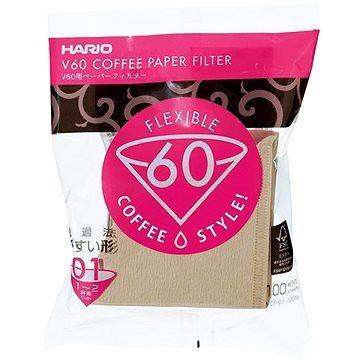 Hario papírové filtry V60-01-100ks
