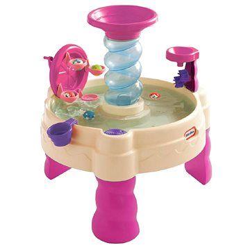 Little Tikes Spirálovitý vodní stůl - růžový