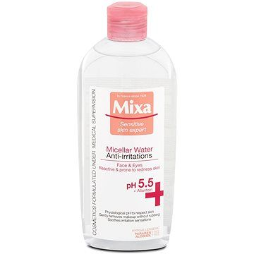 MIXA Sensitive Skin Expert Anti-irritation micelární voda 400 ml