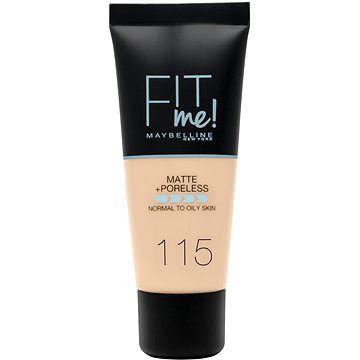 MAYBELLINE NEW YORK Fit Me! Matte & Poreless Make Up 115 Ivory 30 ml