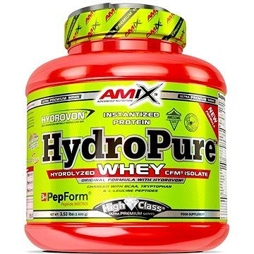 Amix Nutrition HydroPure Whey Protein, 1600g, Double Dutch Chocolate