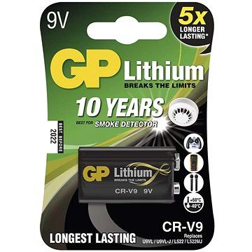 GP CR-V9 (9V) 1ks v blistru