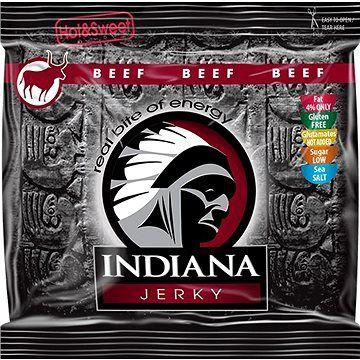 INDIANA Jerky beef Hot & Sweet 60g cena od 107 Kč