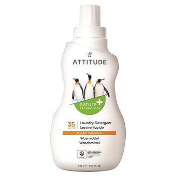 ATTITUDE Prací gel s vůní citronové kúry 1,05 l (35 praní)