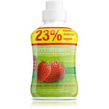 SODASTREAM 750ml Zelený čaj jahoda cena od 149 Kč