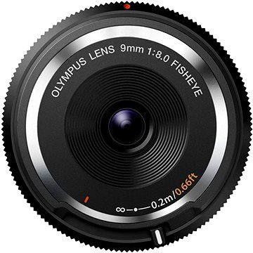 Olympus M.ZUIKO DIGITAL BCL 9mm f/8.0 rybí oko černý