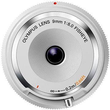 Olympus M.ZUIKO DIGITAL BCL 9mm f/8.0 rybí oko bílý
