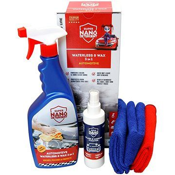 NANOPROTECH NANO GNP Waterless & Wax 3v1
