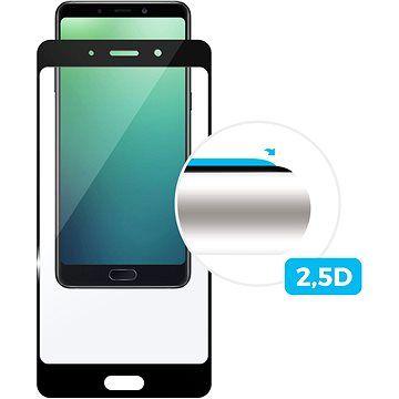 FIXED Full-Cover pro Samsung Galaxy A70 lepení přes celý displej černé
