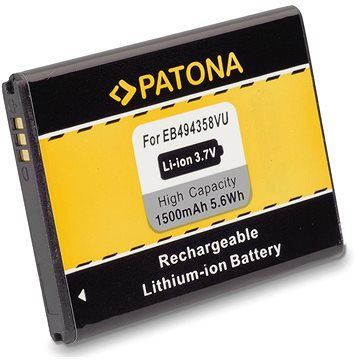 PATONA pro Samsung EB-494358VU 1500mAh 3,7V Li-Ion