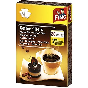 FINO Kávové filtry 2/80 ks
