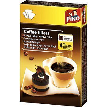 FINO Kávové filtry 4/80 ks