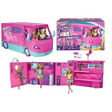Alltoys Sparkle Girlz Karavan obytný pro panenky