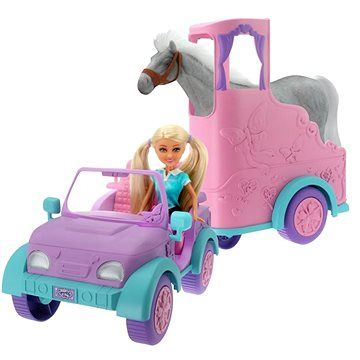 Alltoys Sparkle Girl Přívěs pro koně cena od 919 Kč