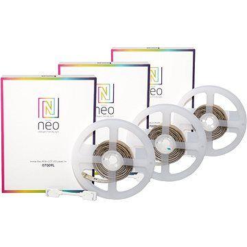 Immax Neo 3x LED pásek 1m, barevný, stmívatelný, Zigbee 3.0