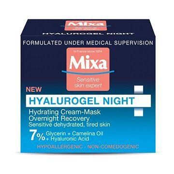 MIXA Hyalurogel Night Hydrating Cream-Mask 50 ml