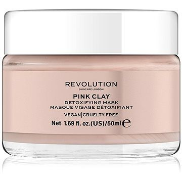 Makeup Revolution REVOLUTION SKINCARE Pink Clay Detoxifying 50 ml