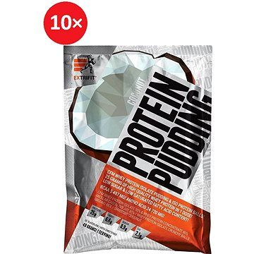 Extrifit Protein Pudding 10 x 40 g coconut