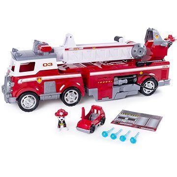 Spin Master Tlapková patrola Velký hasičský vůz s efekty