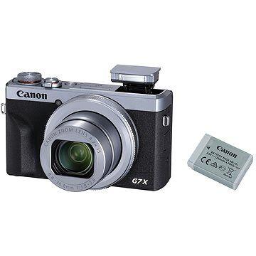 Canon PowerShot G7 X Mark III Battery Kit stříbrný cena od 18900 Kč