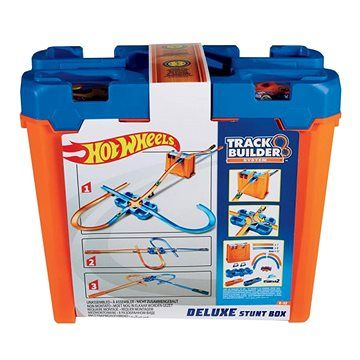 Mattel Hot Wheels TrackBuilder Box plný triků