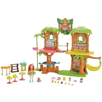 Mattel Enchatimals Kavárna v džungli