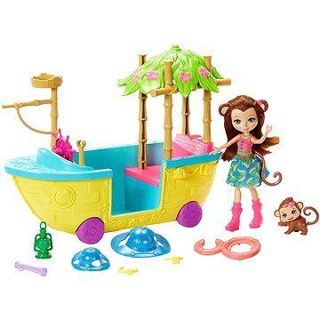 Mattel Enchantimals Vyhlídková loď do džungle