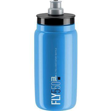 ELITE láhev FLY modrá/černé logo, 550 ml