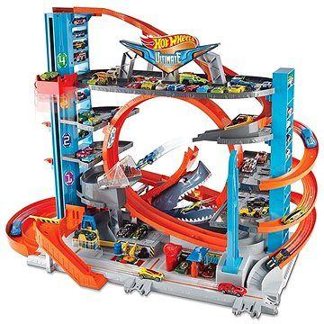 Mattel Hot Wheels City Garáž se smyčkou