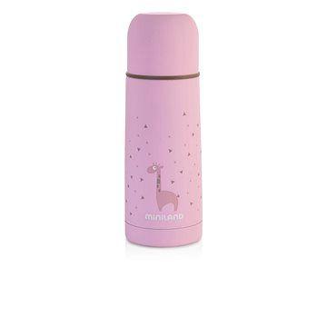 MINILAND Termoska Silky 350 ml - pink