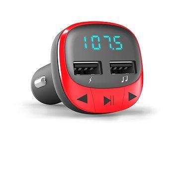 Energy Sistem Car Transmitter FM Red