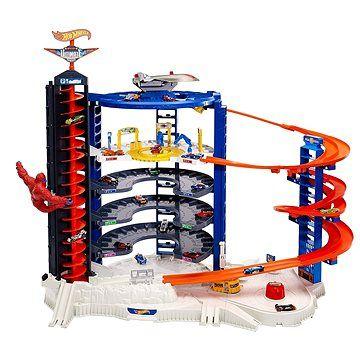 Mattel Hot Wheels City Supergaráž