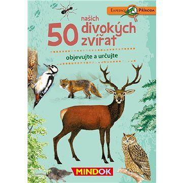 MINDOK Expedice příroda: 50 našich divokých zvířat