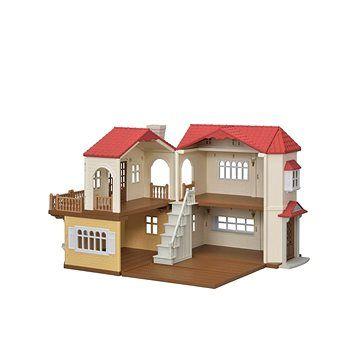 Sylvanian Families Patrový dům s červenou střechou
