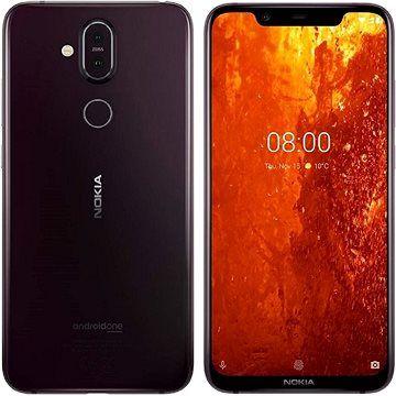 Nokia 8.1 fialová cena od 0 Kč