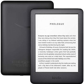 Amazon New Kindle 2019 černý - BEZ REKLAMY