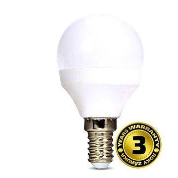 Solight LED žárovka miniglobe E14 6W 3000K