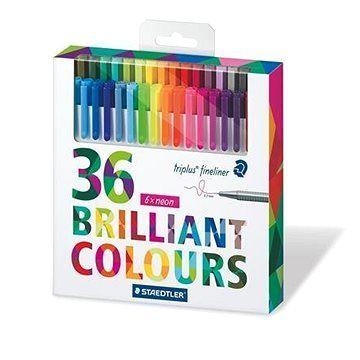 Staedtler Finelinery Triplus 36 barev