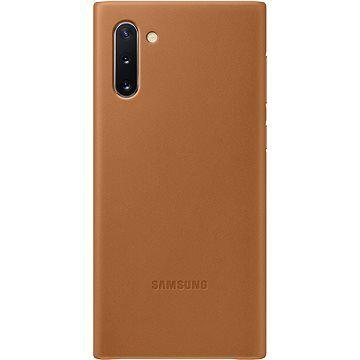Samsung Kožený zadní kryt pro Galaxy Note10 béžový