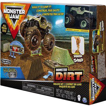 Spin Master Monster Jam Sada s tekutým pískem delux