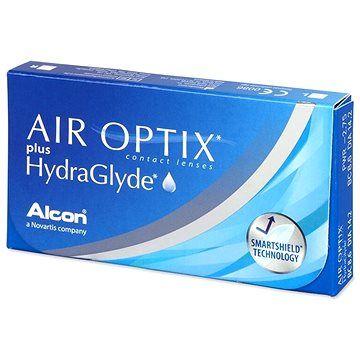 Alcon Air Optix Plus HydraGlyde (6 čoček) dioptrie: -7.50, zakřivení: 8.60