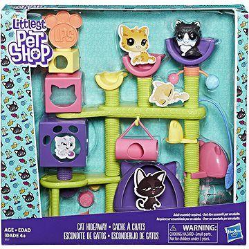Hasbro Littest Pet Shop Kočičí domeček se zvířátkem