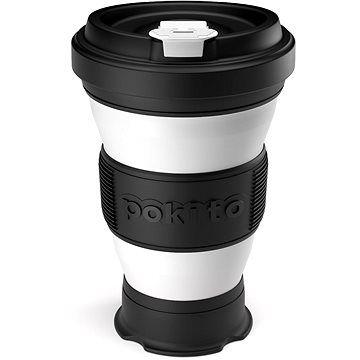 POKITO Skládací šálek na kávu 3v1 ostružinový