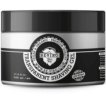 BE-VIRO Transparent Shaving Gel 500 ml