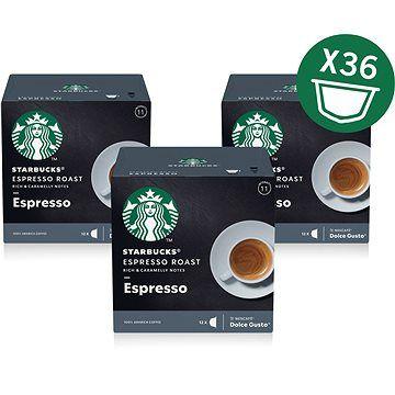 Starbucks by Nescafé Dolce Gusto Espresso Roast 3x12ks