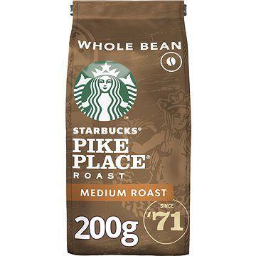 Starbucks Pike Place Espresso Roast, zrnková káva, 200 g