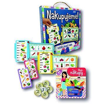 JUNIOR Nakupujeme!: Vzdělávací hra cena od 215 Kč