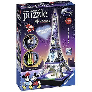 Ravensburger 3D 125203 Disney věž (Noční edice)