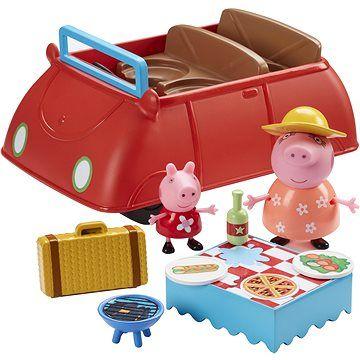 TM Toys Peppa Pig Auto deluxe se zvukovymi efekty cena od 1099 Kč