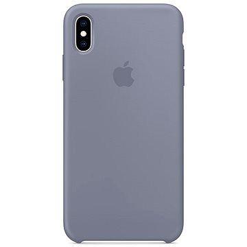 Apple iPhone XS Max Silikonový kryt levandulově šedý